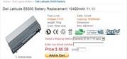 Dell Latitude E6500 battery