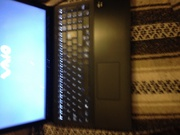Almost new sony viao touchscreen laptop with bag