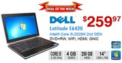 Deal of the Week: DELL Latitude E6420 Core i5 2520M 4GB 250GB WEBCAM
