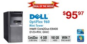 ►►Deal of the Week:  DELL OptiPlex 960 Core2Duo E8400 3.0GHz 4GB 160GB